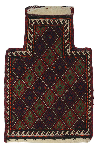 Qashqai - Saddle Bag Persian Carpet 56x37