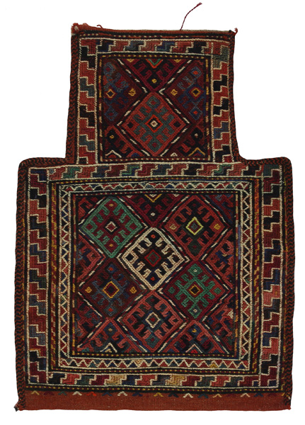 Qashqai - Saddle Bag Persian Carpet 52x38