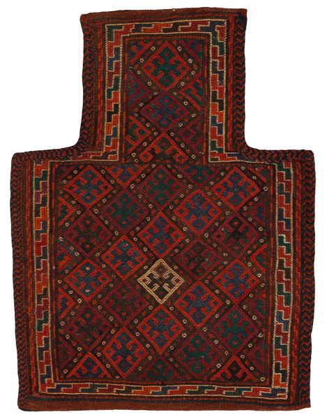 Qashqai - Saddle Bag Persian Carpet 47x37