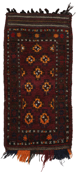 Turkaman - Saddle Bag Turkmenian Textile 120x59