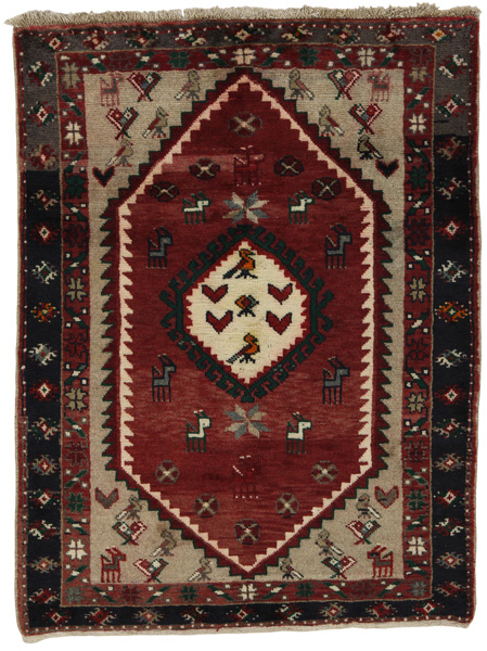 Kelardasht - Kurdi Persian Carpet 134x100