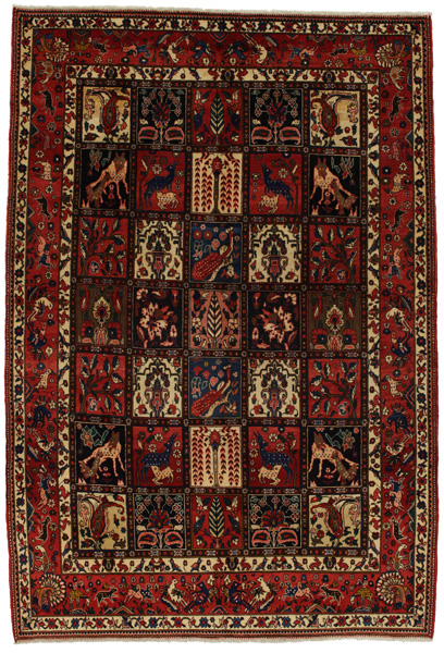 Bakhtiari Persian Carpet 318x215