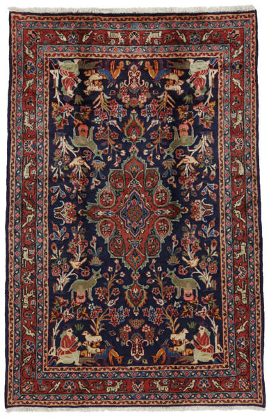 Jozan - Sarouk Persian Carpet 228x150