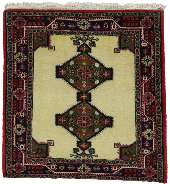 Jozan - Sarouk Persian Carpet 83x81