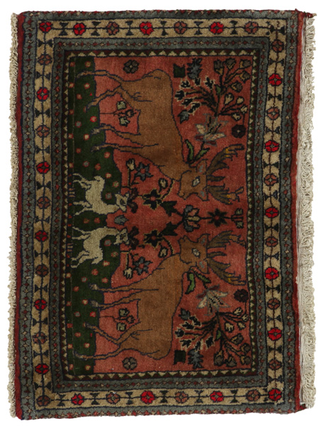 Bijar - Kurdi Persian Carpet 50x73