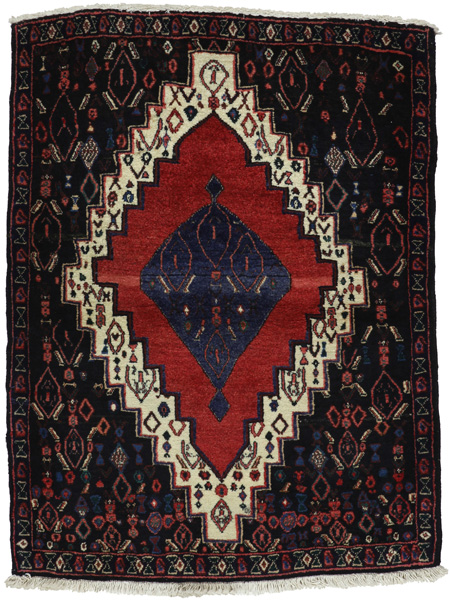 Senneh - Kurdi Persian Carpet 109x83