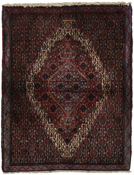 Senneh - Kurdi Persian Carpet 97x75