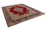 Kerman - Lavar Persian Carpet 401x304 - Picture 1