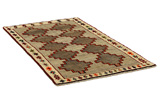 Gabbeh - Qashqai Persian Carpet 197x112 - Picture 1