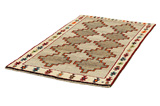 Gabbeh - Qashqai Persian Carpet 197x112 - Picture 2