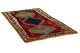 Gabbeh - Qashqai Persian Carpet 196x110 - Picture 1