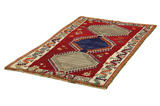 Gabbeh - Qashqai Persian Carpet 196x110 - Picture 2