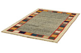 Gabbeh - Qashqai Persian Carpet 187x121 - Picture 2