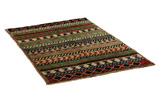 Gabbeh - Qashqai Persian Carpet 165x111 - Picture 1