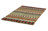 Gabbeh - Qashqai Persian Carpet 165x111 - Picture 2