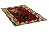 Gabbeh Persian Carpet 180x113 - Picture 1