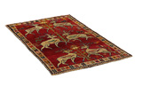 Gabbeh - Qashqai Persian Carpet 198x118 - Picture 1