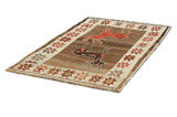 Gabbeh - Qashqai Persian Carpet 191x118 - Picture 2