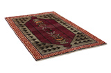 Gabbeh - Qashqai Persian Carpet 228x135 - Picture 1
