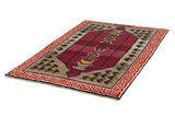 Gabbeh - Qashqai Persian Carpet 228x135 - Picture 2