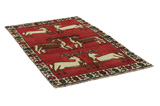 Gabbeh - Qashqai Persian Carpet 187x109 - Picture 1