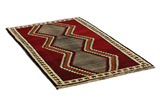Gabbeh - Qashqai Persian Carpet 185x110 - Picture 1