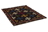 Gabbeh - Bakhtiari Persian Carpet 177x132 - Picture 1