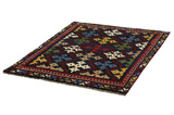 Gabbeh - Bakhtiari Persian Carpet 177x132 - Picture 2