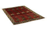 Gabbeh - Qashqai Persian Carpet 193x135 - Picture 1