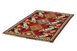Gabbeh - Qashqai Persian Carpet 190x121 - Picture 2
