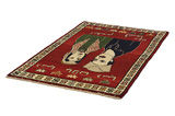 Gabbeh - Qashqai Persian Carpet 192x122 - Picture 2