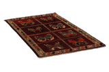 Gabbeh - Qashqai Persian Carpet 177x102 - Picture 1