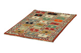 Gabbeh - Bakhtiari Persian Carpet 171x112 - Picture 2