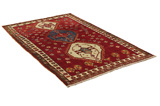 Gabbeh - Qashqai Persian Carpet 206x130 - Picture 1