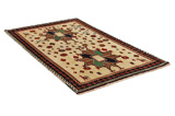 Gabbeh - Qashqai Persian Carpet 195x118 - Picture 1