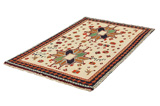 Gabbeh - Qashqai Persian Carpet 195x118 - Picture 2