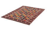 Gabbeh - Bakhtiari Persian Carpet 187x140 - Picture 2