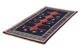 Gabbeh - Qashqai Persian Carpet 211x105 - Picture 2