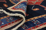 Gabbeh - Qashqai Persian Carpet 211x105 - Picture 5