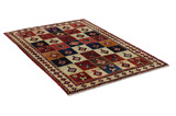 Gabbeh - Bakhtiari Persian Carpet 220x150 - Picture 1