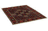 Bakhtiari Persian Carpet 196x144 - Picture 1