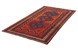 Afshar - Sirjan Persian Carpet 249x134 - Picture 2