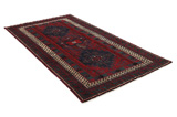 Afshar - Sirjan Persian Carpet 249x138 - Picture 1