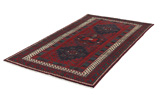Afshar - Sirjan Persian Carpet 249x138 - Picture 2
