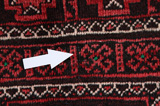 Baluch - Turkaman Persian Carpet 203x113 - Picture 17