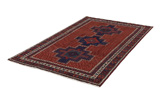 Afshar - Sirjan Persian Carpet 243x150 - Picture 2