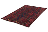 Afshar - Sirjan Persian Carpet 240x145 - Picture 2