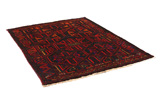 Bakhtiari - Qashqai Persian Carpet 195x149 - Picture 1