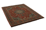 Isfahan Persian Carpet 200x150 - Picture 1
