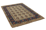 Isfahan Persian Carpet 214x140 - Picture 1